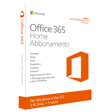 Microsoft Office 365 Home - PC e Mac Licenza ESD