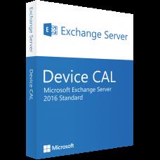 Windows Exchange Server 2016 Standard 10 Device CALs ESD