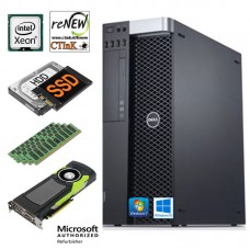 WORKSTATION DELL PRECISION T3600 XEON E5-2680